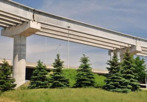 Construction of Air Rail Transit Infrastructure Rail Mississauga GTA