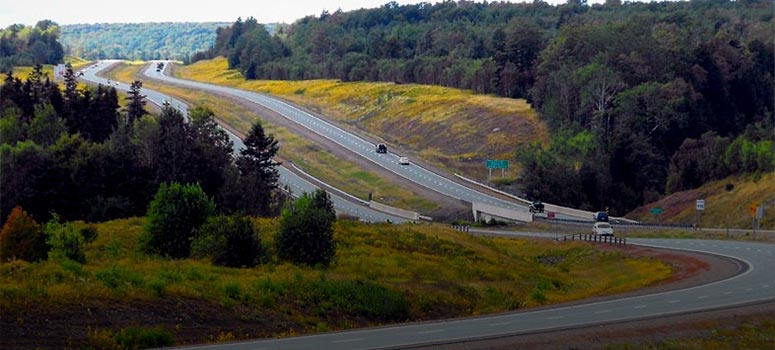Dufferin Projects Highway 104 Cobequid Pass - Asphalt Materials